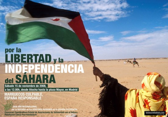 Convocatoria por el Sáhara 15N