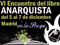 VI Encuentro del libro anarquista