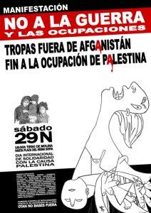 29N No a la guerra y a las ocupaciones