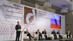 """Forum Internacional """"La producción de droga en Afganistán: un desafío para la comunidad internacional"""""""