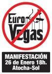 MANIFESTACION NO A EUROVEGAS