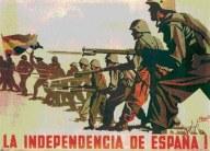 CARTEL REPUBLICANO INDEPENDENCIA DE ESPAÑA