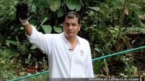 CORREA ACUSA A CHEVRON DESASTRE AMAZONIA
