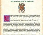 EDICTO EXPULSION JUDIOS 1492