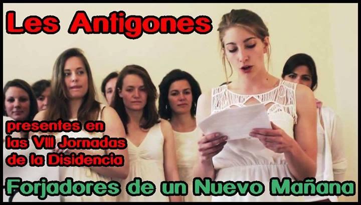 VIII JORNADAS DE LA DISIDENCIA LES ANTIGONES