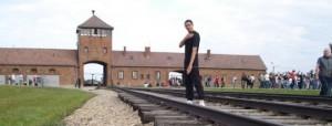 Quenelle-Auschwitz Fuente Internet