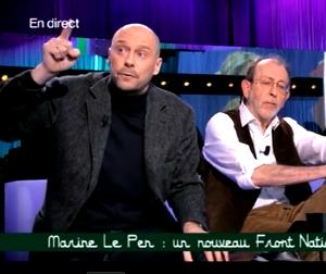 ALAIN SORAL Y ALAIN DE BENOIST EN TV
