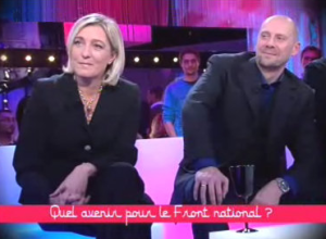 SORAL Y M LE PEN EN TV