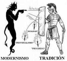 TRADICION CONTRA MODERNISMO