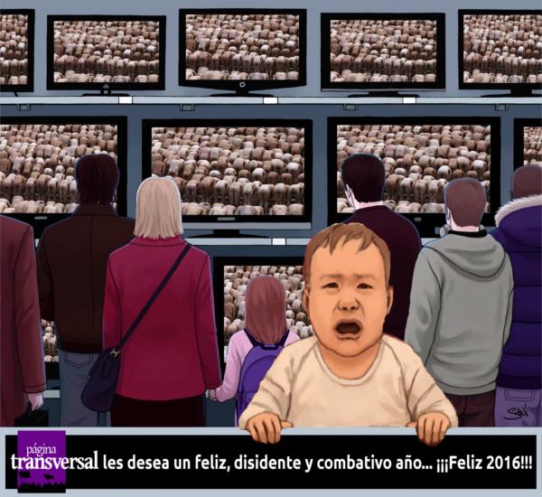 FELIZ DISIDENTE Y COMBATIVO AÑO 2016 PAGINA TRANSVERSAL