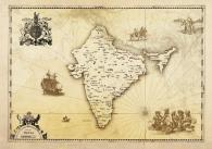 vintage_map_india