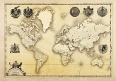vintage_map_world